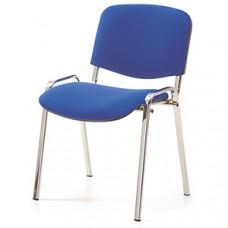 """Стул """"ИЗО"""" хромированный каркас, сиденье и спинка ткань"""