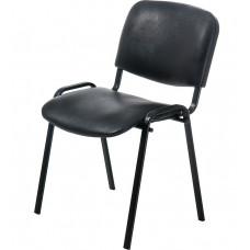 """Стул """"ИЗО"""" каркас черный, сиденье и спинка кожзам"""