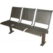 """Секция стульев """"Вега"""" на прямых опорах, без подлокотников, разборная, С4.32.10"""