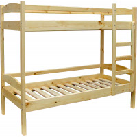 Кровать двухъярусная деревянная МР-2