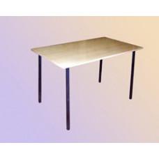 Стол обеденный на сварном каркасе прямоугольный (столешница ЛДСП с пластиком)